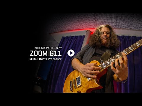 Zoom G11 Multi-Effects Processor for Guitarists