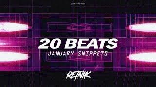 UNFINISHED PROJECTS | 20 BEATS | January Samples | Unreleased Snippets | Retnik Beats