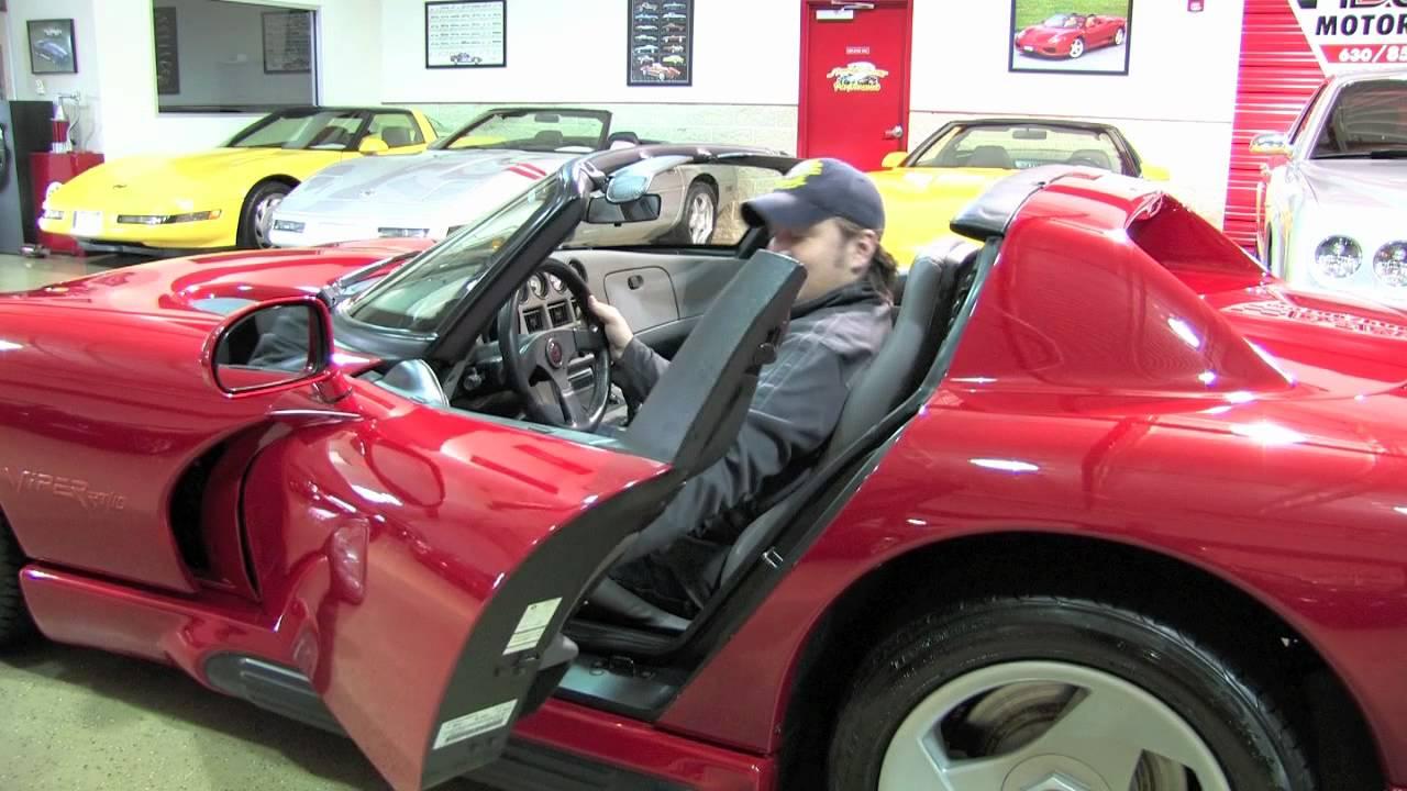 Dodge Viper Rt 10 Roadster D Amp M Motorsports Video Review