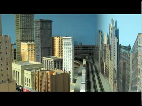N scale City Layout