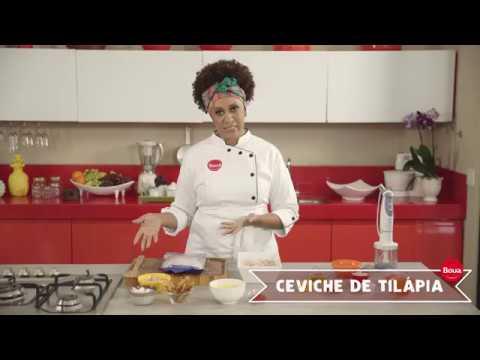 BOUA - Ceviche de Tilápia