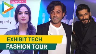 UNCUT: Bobby Deol, Elli Avram, Sonal Chauhan & others @Exhibit Tech Fashion Tour