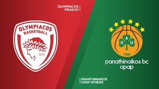2019.01.04 - Olympiacos Piraeus vs Panathinaikos OPAP 79 - 65 (Euroleague 2018-19)