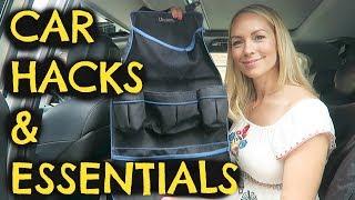 CAR HACKS & ESSENTIALS FOR SUMMER    MOM HACKS ad