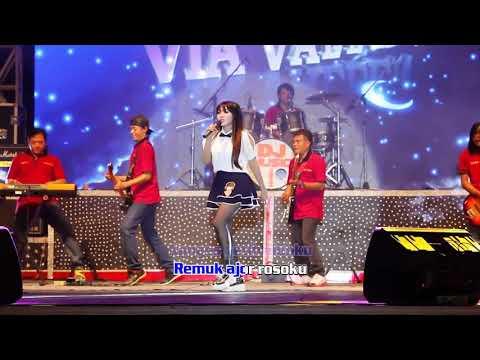 VIA VALLEN OM SERA   DITINGGAL RABI   Official Lyric Video PlanetLagu Com
