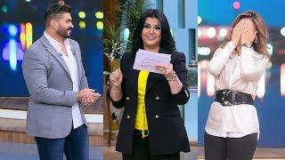 تحدي خالد سليم وزوجته في معكم منى الشاذلي - اللقاء الكامل