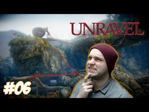 Try Not To Fall In The Toxic Waste Yarny Boy! - Unravel - Gameplay [#06]