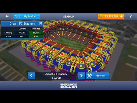 How to Change the Stadium of Dream League Soccer(Fc Barcelona Stadium)