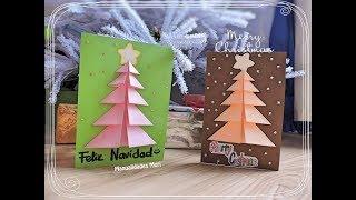 Manualidades para Navidad / TARJETA DE FELICITACIÓN NAVIDEÑA