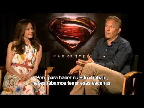 El Hombre de Acero - Entrevista a Diane Lane y Kevin Costner (Martha y Jonathan Kent)