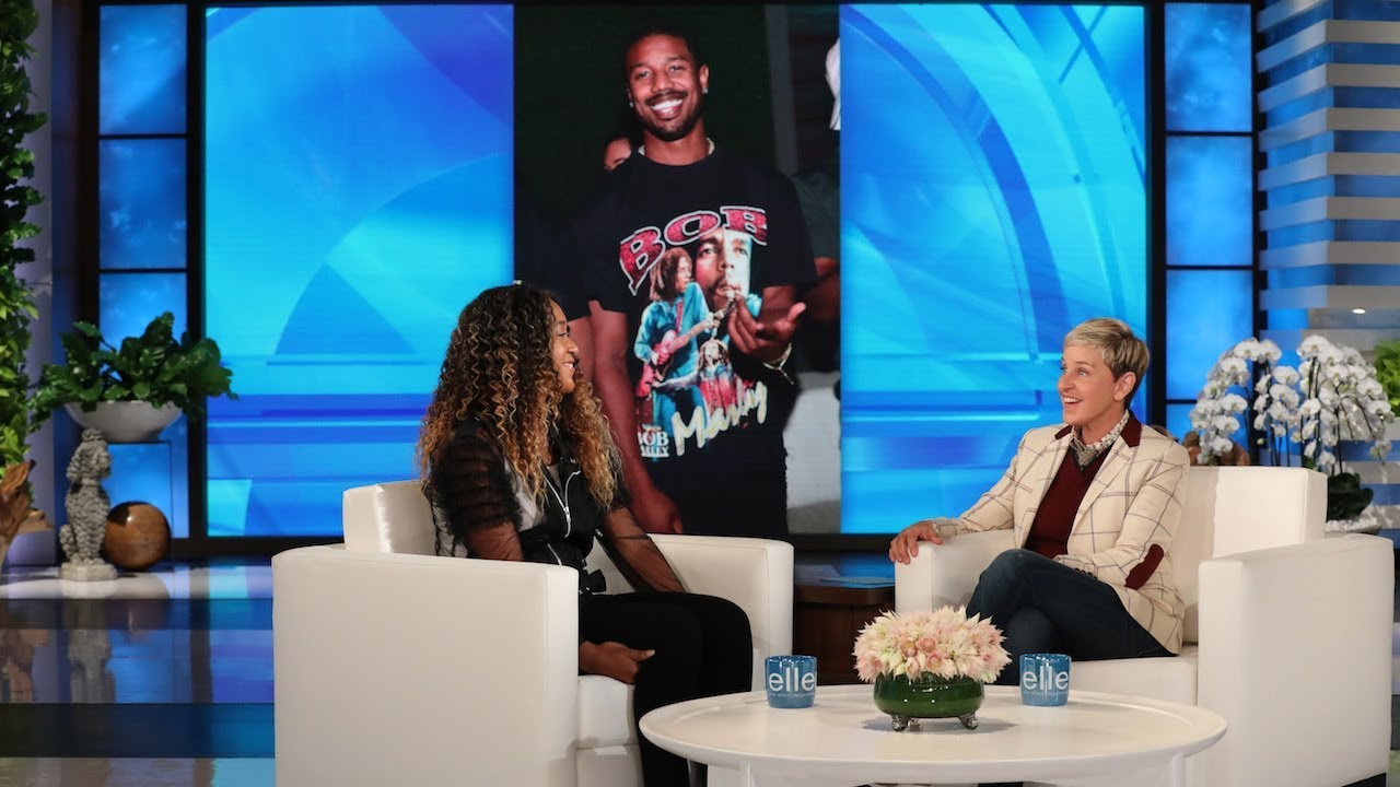 Ellen Plays Matchmaker for U.S. Open Champion Naomi Osaka and Michael B. Jordan