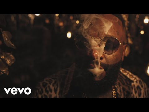 Смотреть клип Rick Ross - Gold Roses Ft. Drake