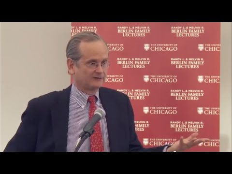 Lawrence Lessig on Institutional Corruption—Finance, 10.23.14. Lecture 2 of 5.