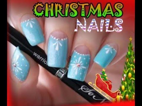 christmas themed acrylic nails  nails design  acrylic
