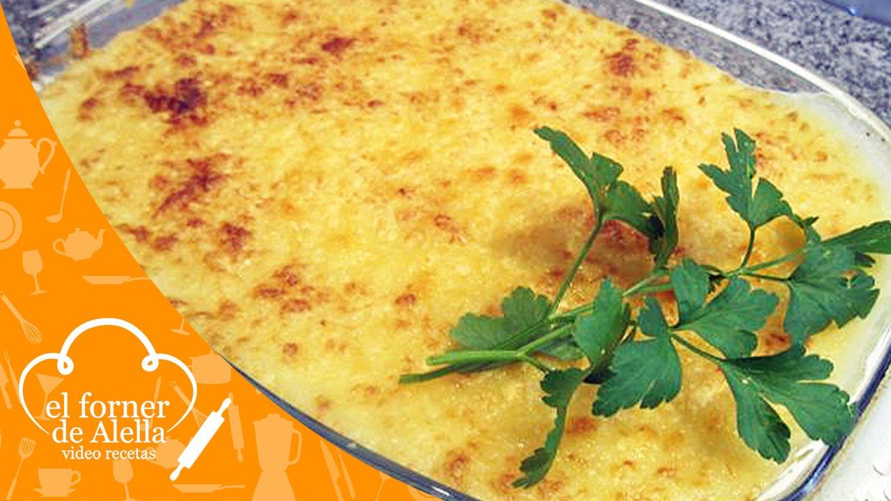 Gratinado de patatas con carne picada y queso viyoutube - Gratinado de patata ...