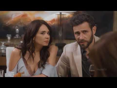 Pasado: Raquel prepara una fiesta a los Alvarado por Benja   Caer en tentación Capitulo 57