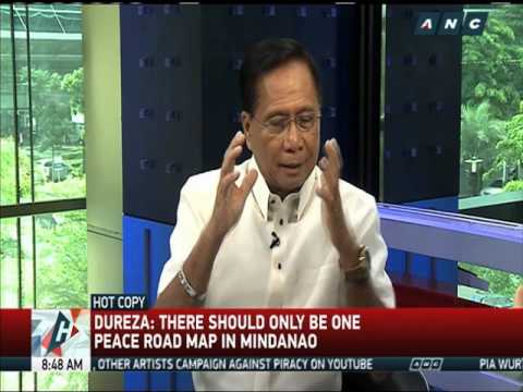 Dureza: Only one peace road map for Mindanao