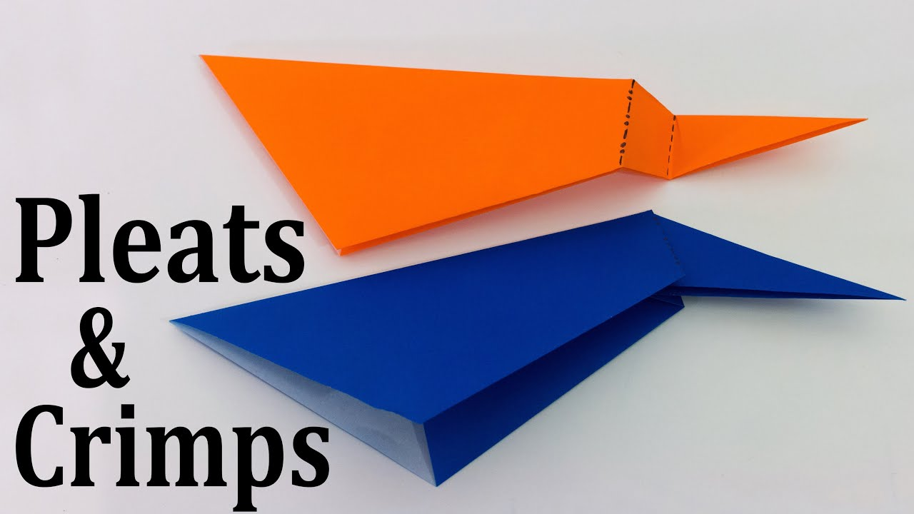 Origami basics pleats crimps tutorial youtube origami basics pleats crimps tutorial jeuxipadfo Image collections