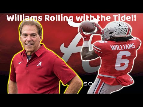 BREAKING! Alabama Crimson Tide OFFICIALLY to get Ohio State WR Transfer Jameson Williams!