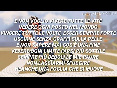 Elisa, Carl Brave - Vivere Tutte Le Vite (Testo con Audio e Lyrics Video)