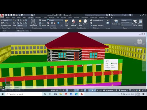 COMPLETE 3D BUILDING,