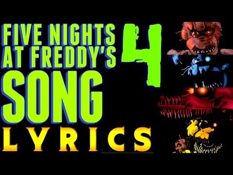 "FIVE NIGHTS AT FREDDY'S 4 SONG ""Bringing Us Home"" (Lyric Video) FNAF 4"