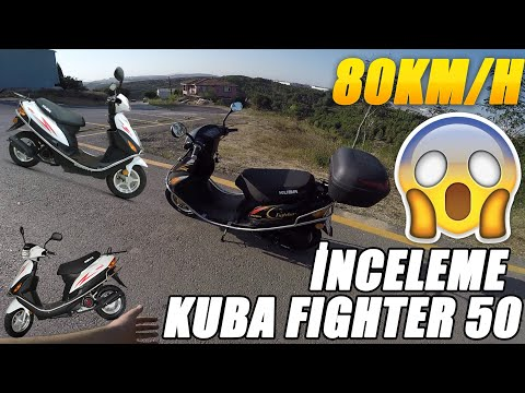 KUBA FIGHTER 50CC | İNCELEME | 80KM/H | YENİ MOTORUM | BABAMA MOTOR ALDIM | B EHLİYETLE KULLANILIR..