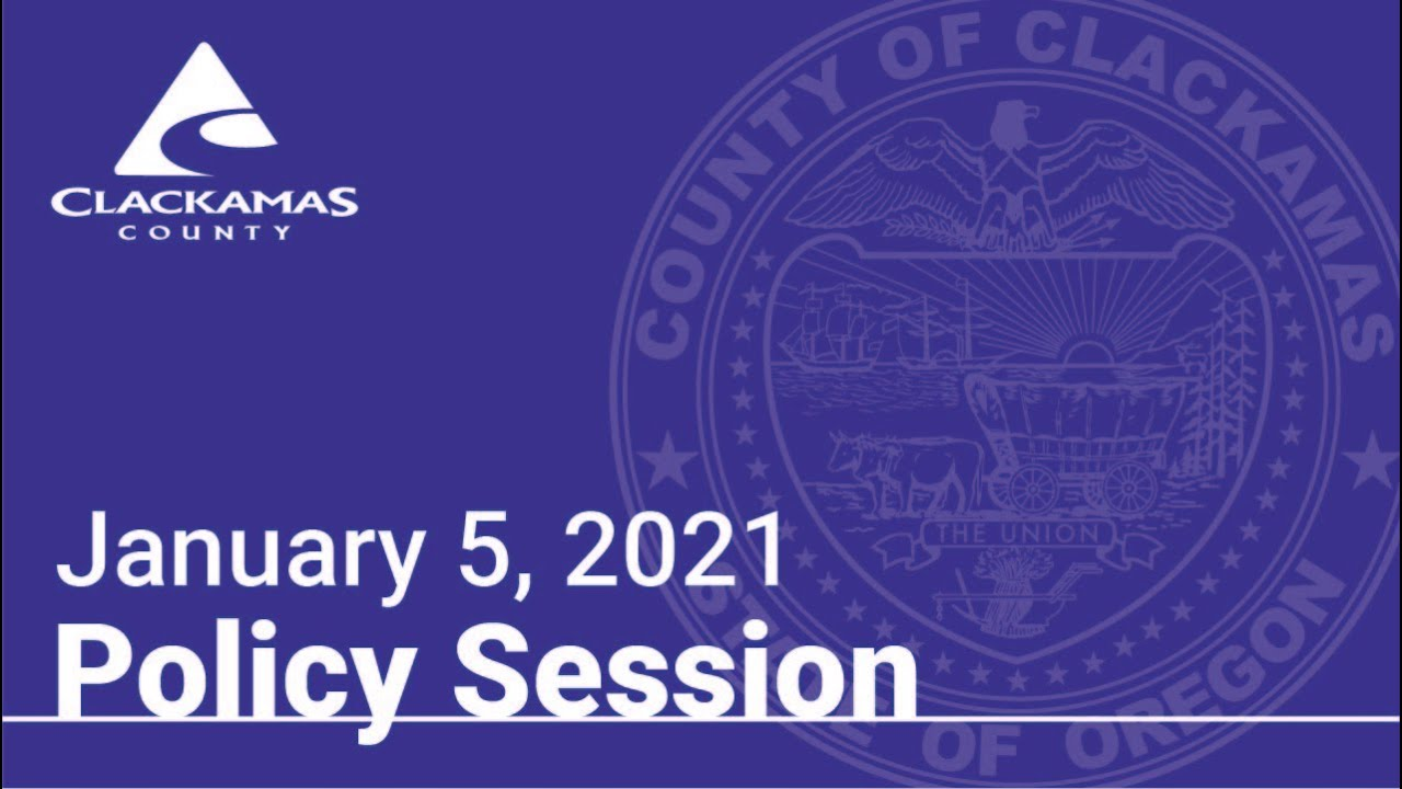 Policy Session 1-5-21