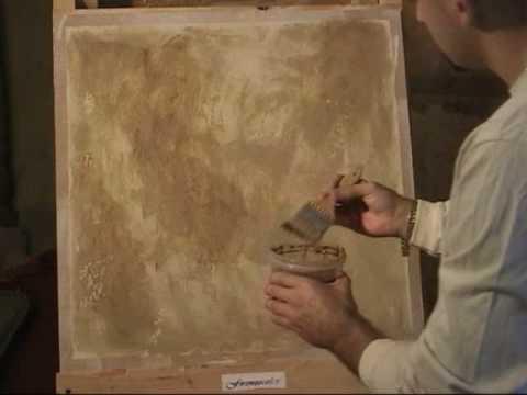 venetian plaster antico tatto color wash youtube. Black Bedroom Furniture Sets. Home Design Ideas