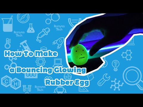How to Make a Glowing Rubber Egg?