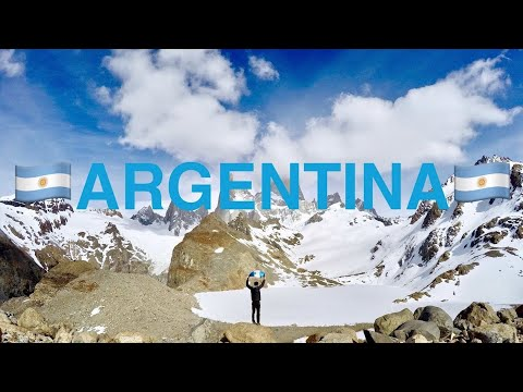 LET'S TRAVEL THE WORLD  - ARGENTINA - Tour du monde Amaury (2/14)