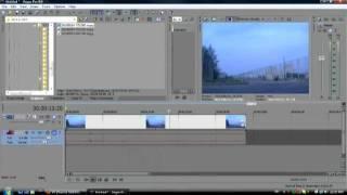 Как сделать исчезновение / Видеоурок / Sony Vegas pro 9