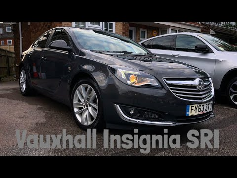 Vauxhall Insignia SRI - Review after wash