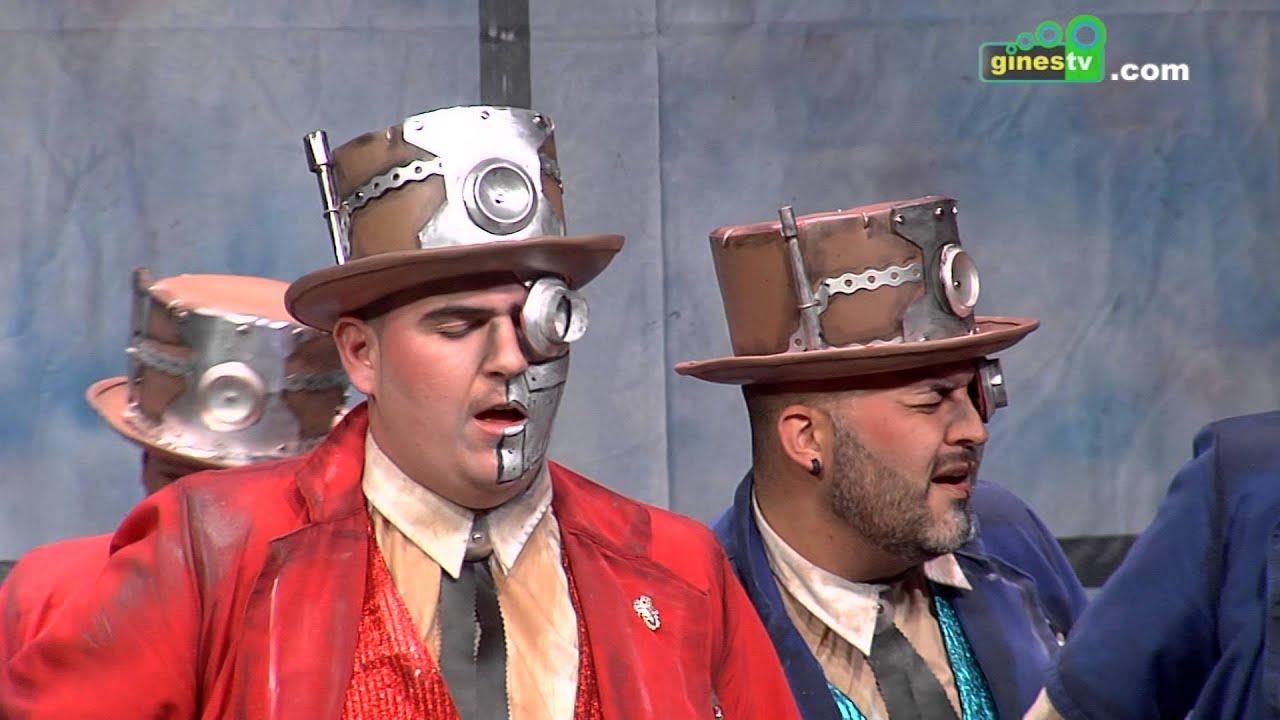 El máquina. Carnaval de Gines 2016 (Sexta semifinal)
