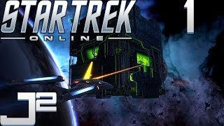 Star Trek Online Gameplay Federation Campaign - Where No Man Has Gone Before - Part 1