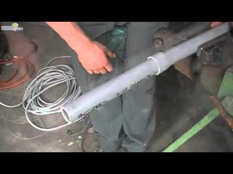 Raccorder deux tuyaux pvc m me diametre youtube - Comment decoller un tuyau pvc ...