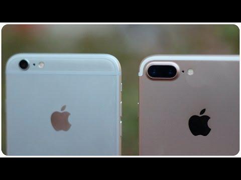 Comparativa IPhone 7 Plus Vs IPhone 6S Plus
