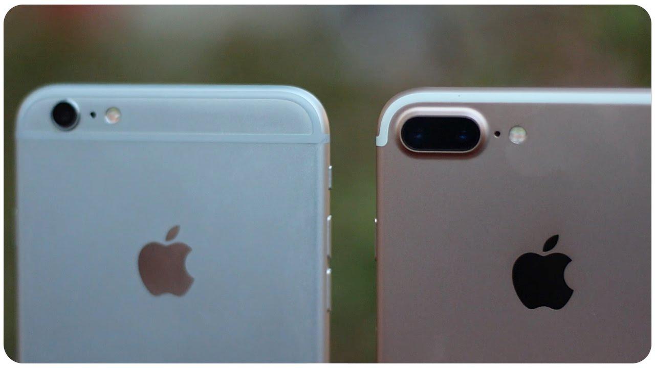 IPHONE 6S PLUS VS IPHONE 7 CUAL COMPRAR
