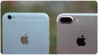 Comparativa iPhone 7 Plus vs iPhone 6S Plus