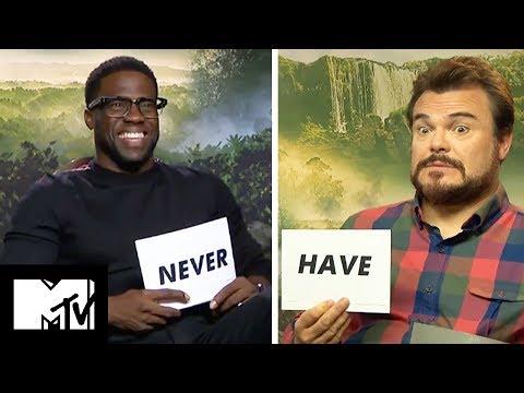 Cast of Jumanji Play Never Have I Ever | MTV Movies