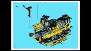 Lego Technic 8275 Bulldozer Instruction Manual Full Version