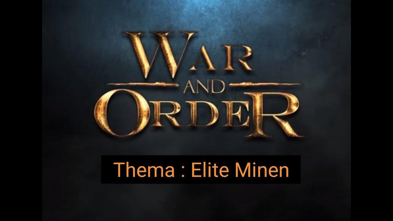 War And Order Deutsch