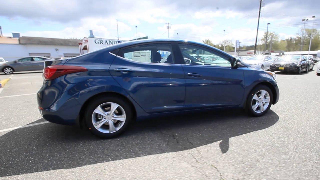 2016 Hyundai Elantra Windy Sea Blue Gu484378 Skagit County Mt Vernon