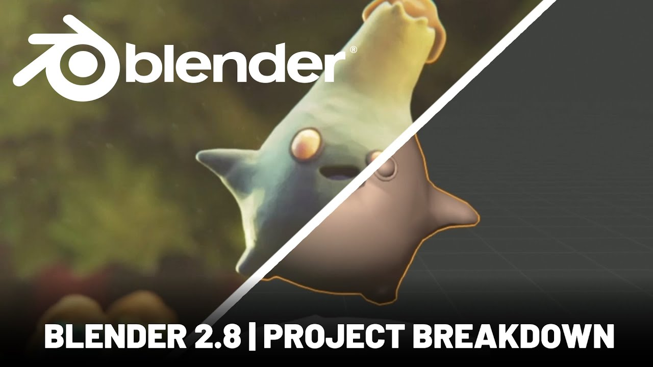 Blender 2.8 | Stop Motion Animation Breakdown - Goober Dance