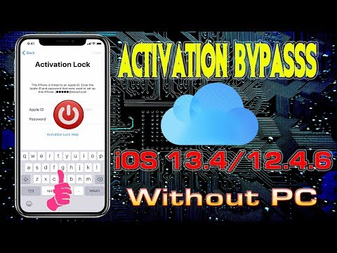 April 2020 ICloud IOS 13.4/12.4.6 Activation Lock Remove #Without #PC#Checkra1n#macos 1000% Working