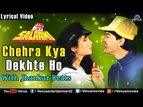 Chehra Kya Dekhte Ho - Lyrical Video | JHANKAR BEATS | Salaami | Best Bollywood Romantic Songs