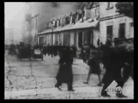 Warsaw ghetto archival footage - Warszawskie getto - ווארשעווער געטא