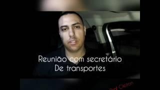 """Alterações no decreto que regulamenta """"uber"""", e reunião com secretário de transporte SP."""