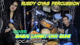 Download lagu Bagai Langit dan Bumi Cover - Rusdy Oyag Percussion Voc.Ayu Rusdy