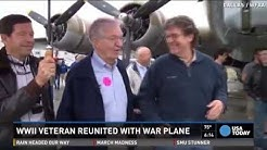 90-year-old WWII vet reunites with war plane